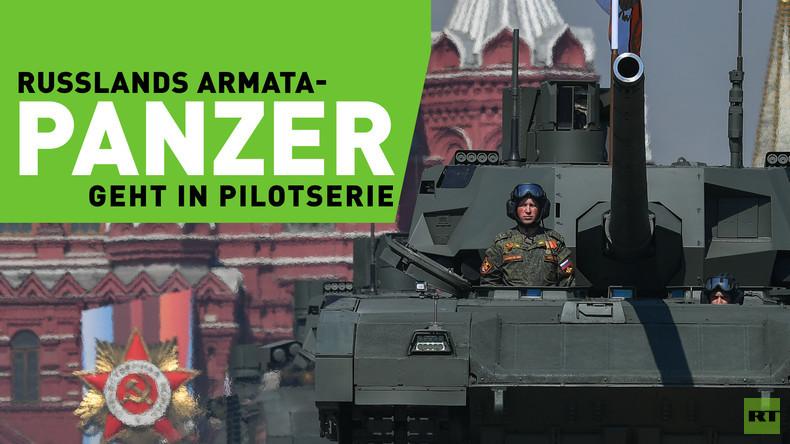 "Russlands Panzer der Zukunft: T-14 ""Armata"" geht in Pilotserie"