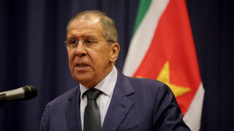 Lawrow: Kurden müssen mit Syrien kooperieren, um eigene Interessen zu wahren