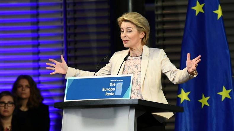 EU-Parlament bestätigt Ursula von der Leyens Kommission – Linke und AfD stimmten dagegen
