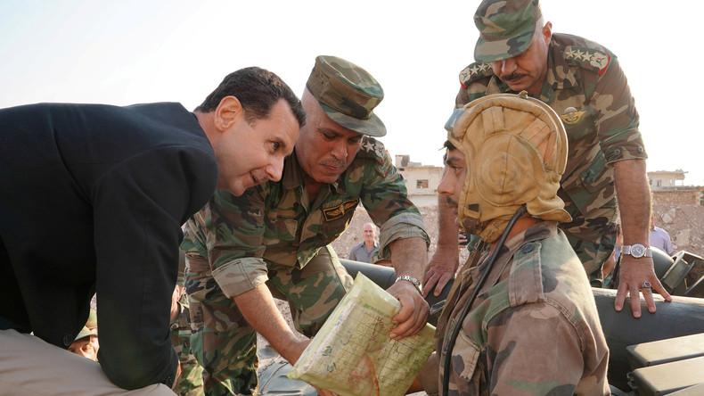 Baschar al-Assad: Ausländische Terroristen werden vor syrische Gerichte gestellt