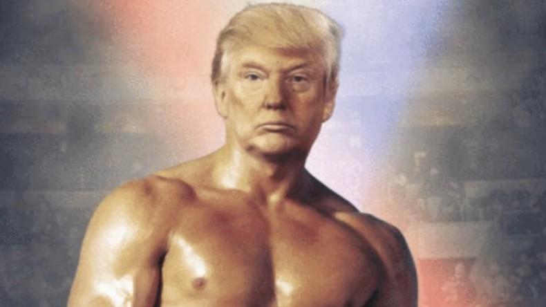 Ganz großes Kino: Trump zeigt montiertes Oben-ohne-Foto auf Twitter