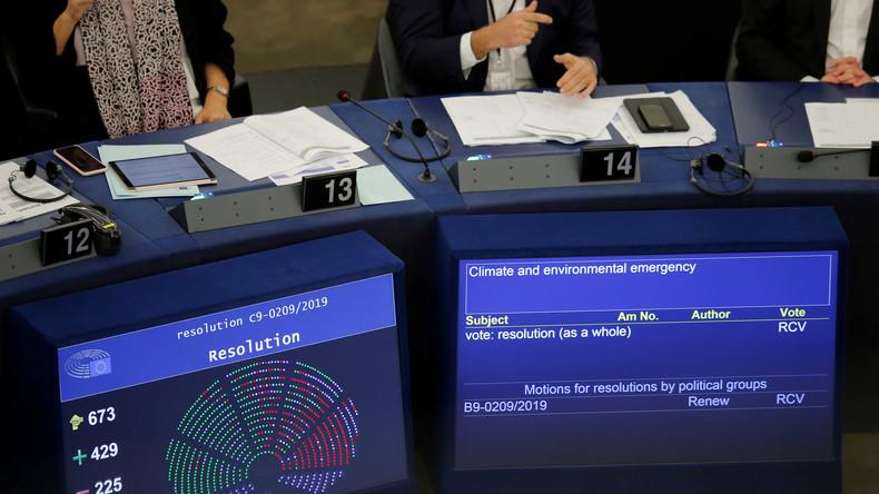 """EU-Parlament ruft """"Klimanotstand"""" aus"""