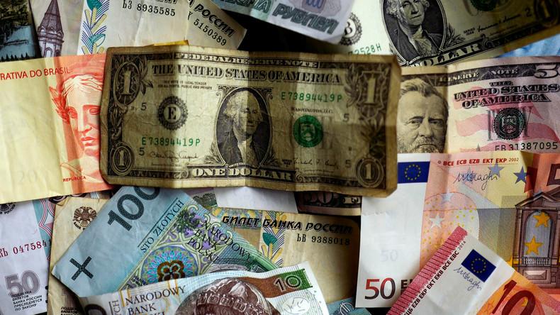 Zentralbank: Russland weit weniger abhängig vom US-Dollar oder anderen Fremdwährungen