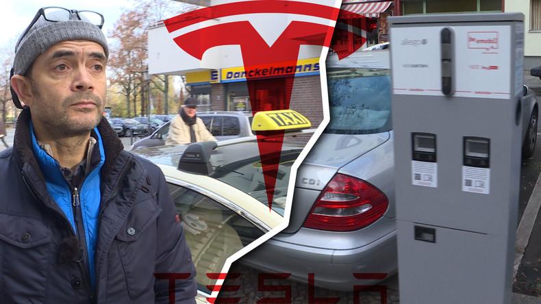 Schluss mit E-Auto: Letztes Tesla-Taxi in Berlin geht vom Netz (Video)
