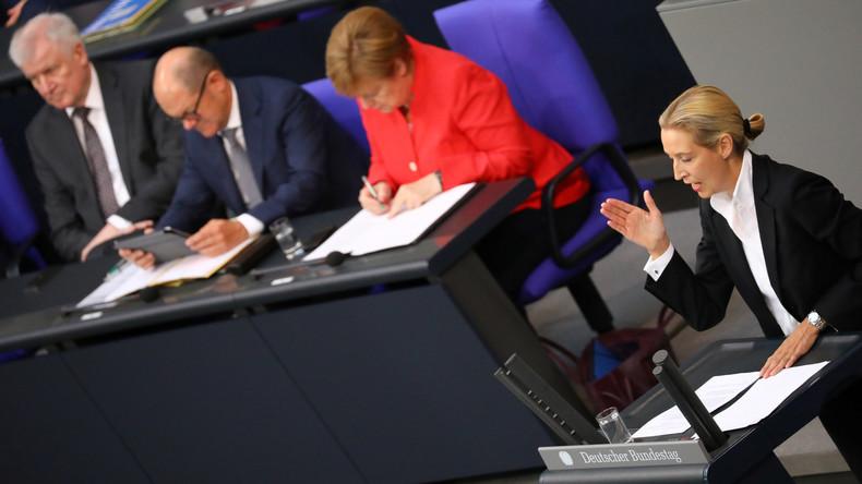 Alice Weidel ist überzeugt: Koalitionen von CDU und AfD nur eine Frage der Zeit