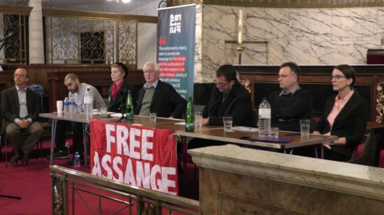 """London: """"Befreit die Wahrheit"""" – Experten und Künstler fordern Freilassung von Julian Assange"""