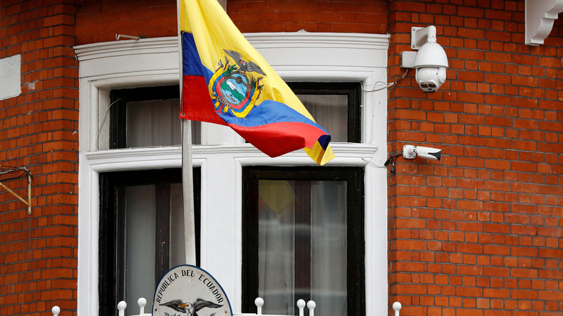 Bei Assange-Besuch mutmaßlich ausspioniert: NDR erstattet Anzeige gegen dubiose Sicherheitsfirma