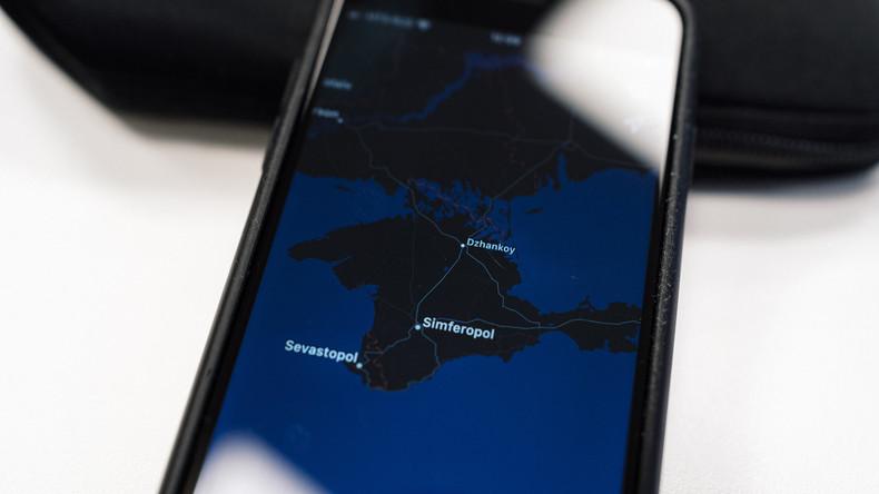 Apple in Russland zeigt Krim nun als russisches Staatsgebiet