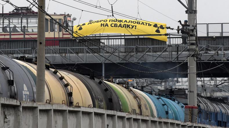 Greenpeace kritisiert Atommüll-Exporte von Deutschland nach Russland