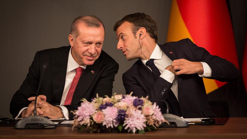 Erdoğan verdächtigt Macron