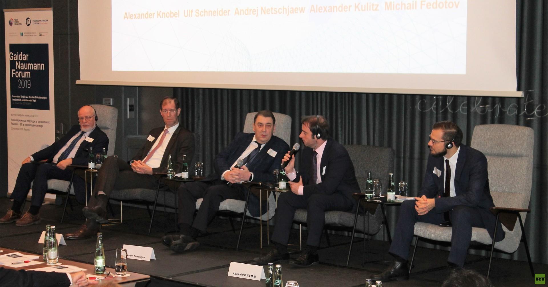 Hat Macron recht oder nicht? FDP-Forum sucht nach neuen Wegen für EU-Russland-Beziehungen