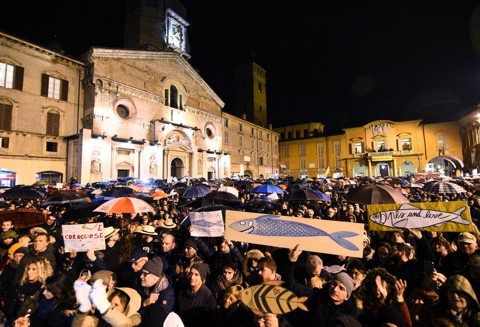 Neue Protestbewegung in Italien: Attenzione, jetzt kommen die Sardinen!