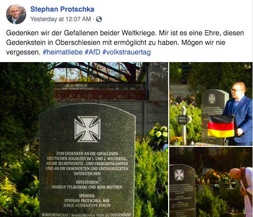 """""""Unerträglich und skandalös"""": Von AfD-Politiker mitfinanzierter Gedenkstein in Polen löst Streit aus"""
