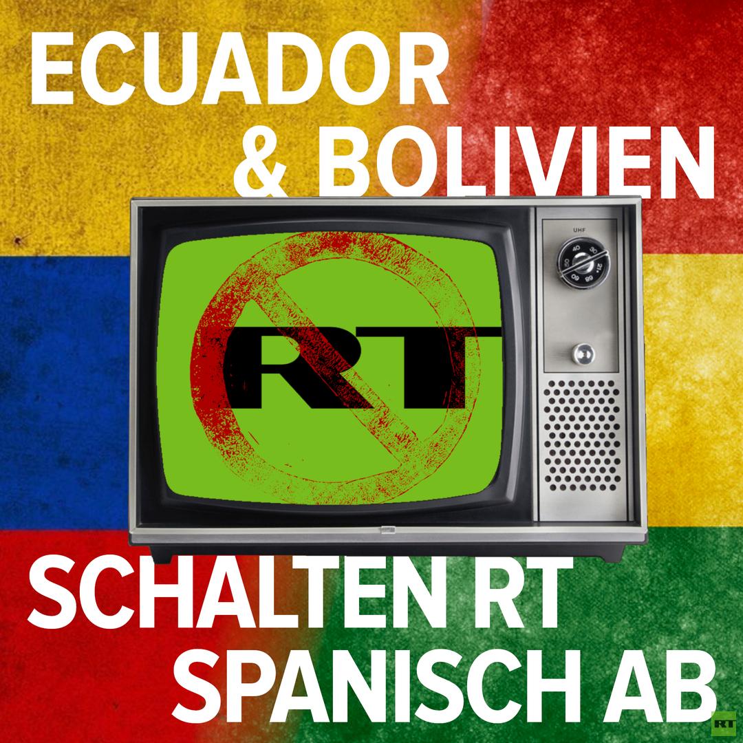 Ab Dezember: Bolivianischer TV-Anbieter schaltet RT Spanisch ab