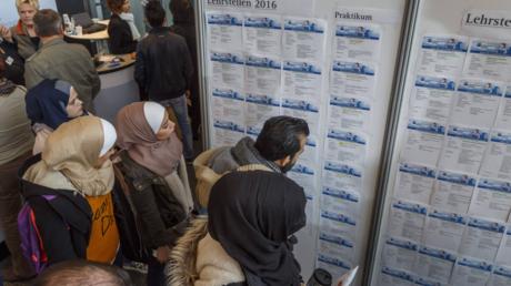 Jobbörse für Migranten in Cottbus im Oktober 2016