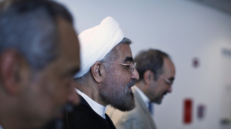 Der iranische Präsident Hassan Rohani, UN-Generalversammlung, New York, USA, 26. September 2013.