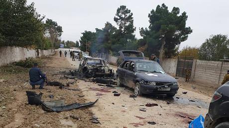 Beim Angriff von einer Gruppe IS-Kämpfern auf eine Grenzschutzstation wurden fast alle Angreifer im Feuergefecht getötet.