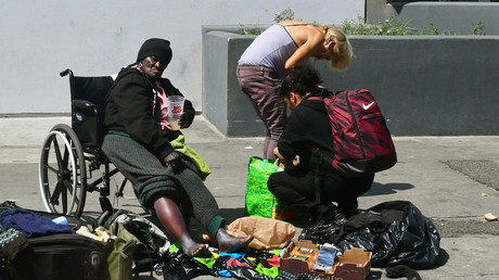 Spuren des Zerfalls: Obdachlose in Kalifornien im Mai 2019