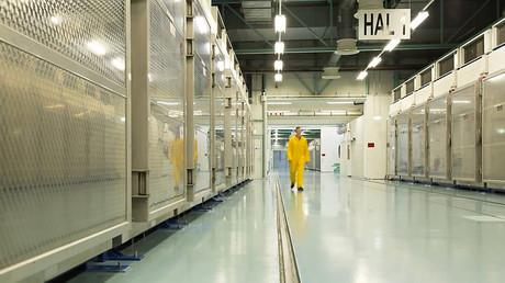 Bild aus dem Inneren der iranischen Atomanlage in Fordo vom 6. November