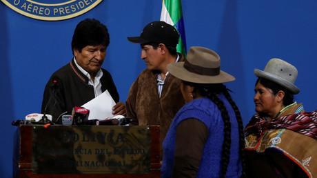 Proteste in Bolivien: Präsident Evo Morales ruft Neuwahl aus