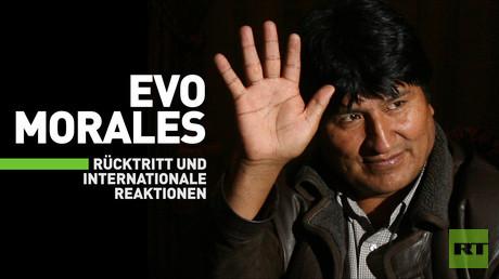 Evo Morales: Rücktritt und internationale Reaktionen