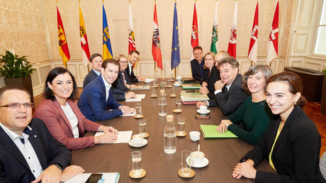 Erste Sondierungsgespräche der ÖVP und der Grünen im Oktober