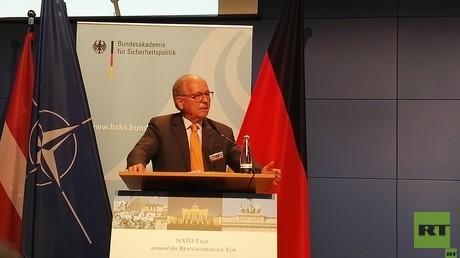 Wolfgang Ischinger, Vorsitzender der Münchner Sicherheitskonferenz, beim