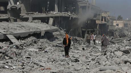 Gazastreifen, nicht Aleppo 2014