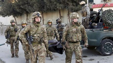 Britische Soldaten in Afghanistan, 12. Dezember 2015