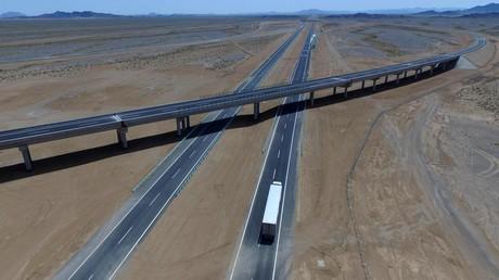 Chinas Belt and Road Initiative – die