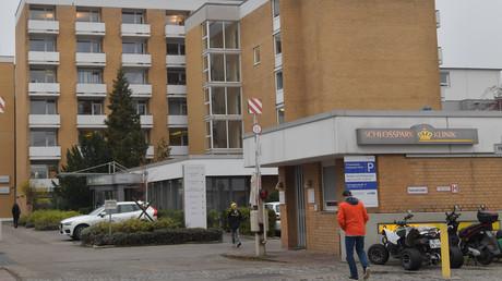 Die Schlosspark-Klinik in Berlin-Charlottenburg war Tatort des Verbrechens.