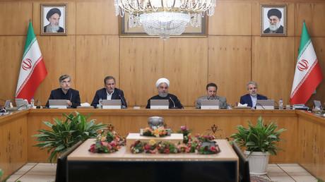 Der iranische Präsident Hassan Rohani, Teheran, Iran, 20. November,, 2019.