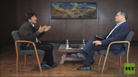 Evo Morales im Exklusiv-Interview für RT:
