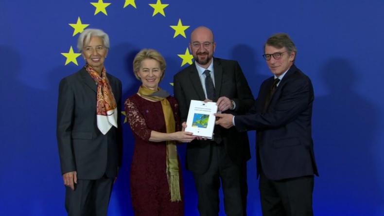 EU-Kommission unter Ursula von der Leyen startet