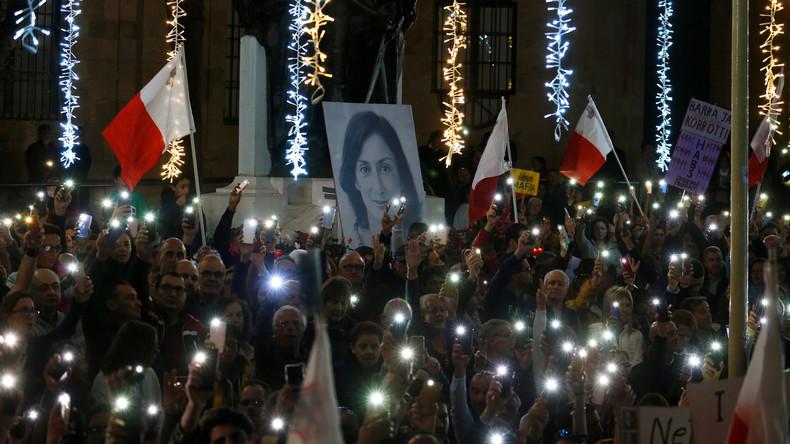 Maltas Premierminister kündigt Rücktritt an – Proteste dauern an