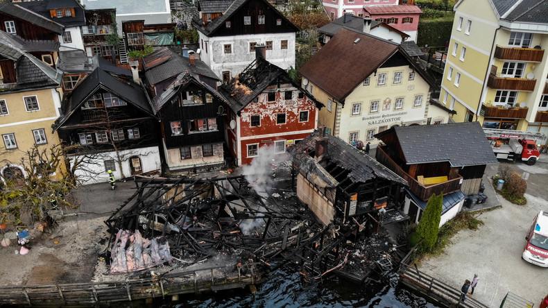 Österreich: UNESCO Weltkulturerbe Hallstatt entgeht knapp einer Brandkatastrophe
