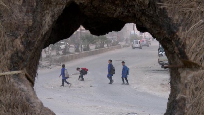 Syrien: Rare Aufnahmen aus Duma, der Stadt, in der angeblich Giftgas eingesetzt wurde