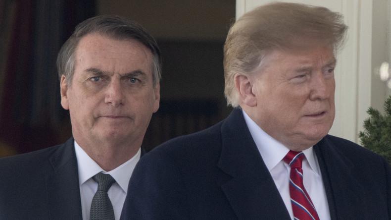 Trump droht mit Strafzöllen gegen Brasilien und Argentinien