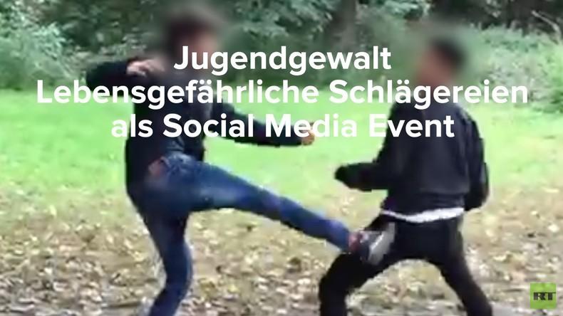 Jugendgewalt: Lebensgefährliche Schlägereien als Social-Media-Event (Video)