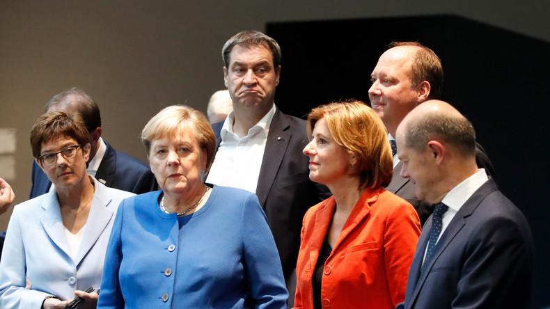 GroKo-Rangelei: Kramp-Karrenbauer droht SPD mit Ende der Grundrente