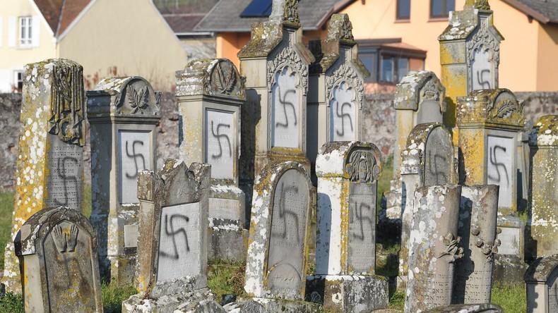 Elsass: Mehr als 100 jüdische Gräber geschändet