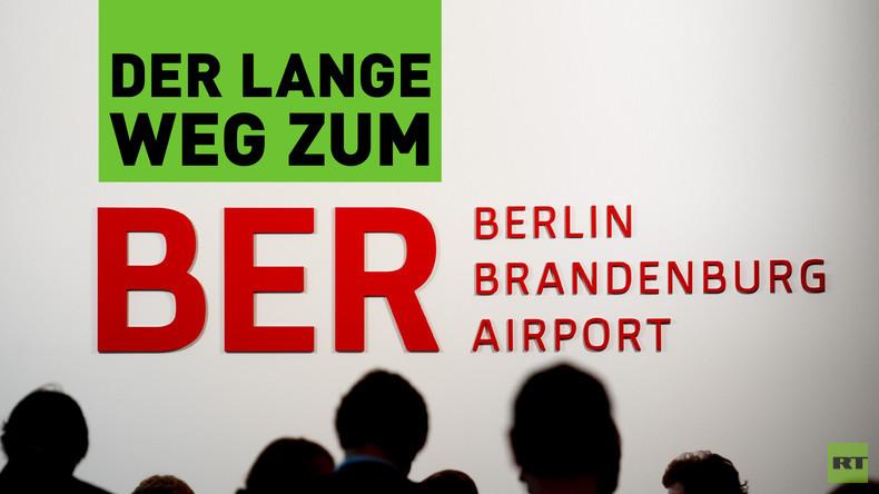 Der Berliner Flughafen BER und seine lange Geschichte