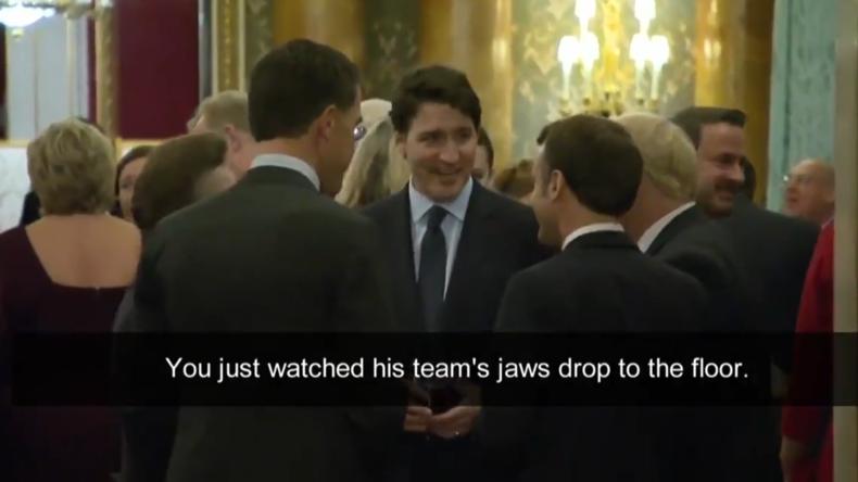 """""""Tratschweiber"""" der NATO – Trudeau, Macron und Johnson beim Lästern über Trump erwischt"""