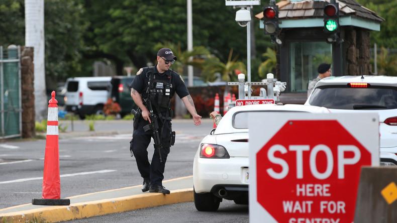 Schüsse auf US-Militärstützpunkt in Pearl Harbor – Drei Tote
