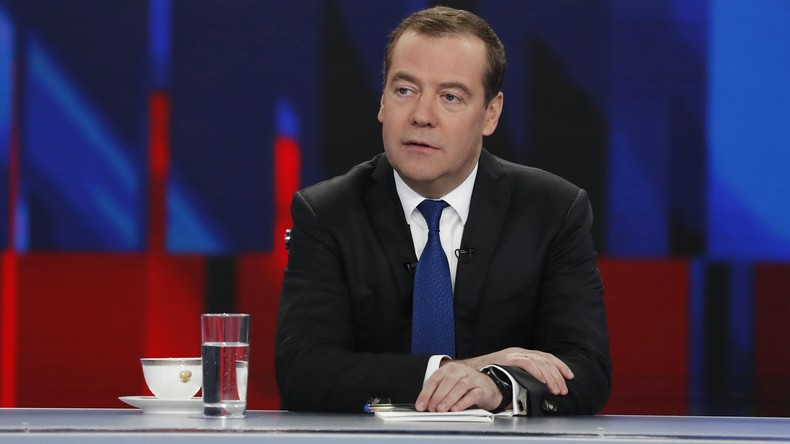 """Russlands Premierminister: Dopingvorwürfe gegen Russland ähneln """"endloser antirussischer Seifenoper"""""""