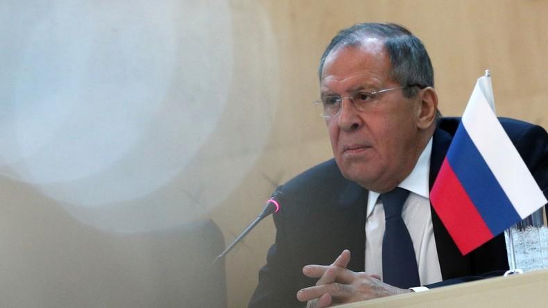 Nach Ausweisung von Diplomaten: Lawrow weist Anschuldigungen aus Deutschland zurück