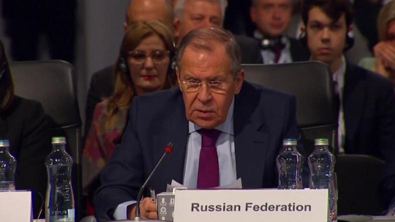 Lawrow will OSZE-Friedensinitiative: Die NATO steht an unseren Grenzen und erklärt uns zum Feind