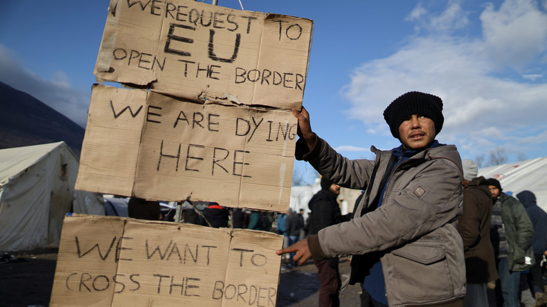 Camp Vučjak in Bosnien-Herzegowina: Migranten im Hungerstreik – fordern Öffnung der EU-Grenze
