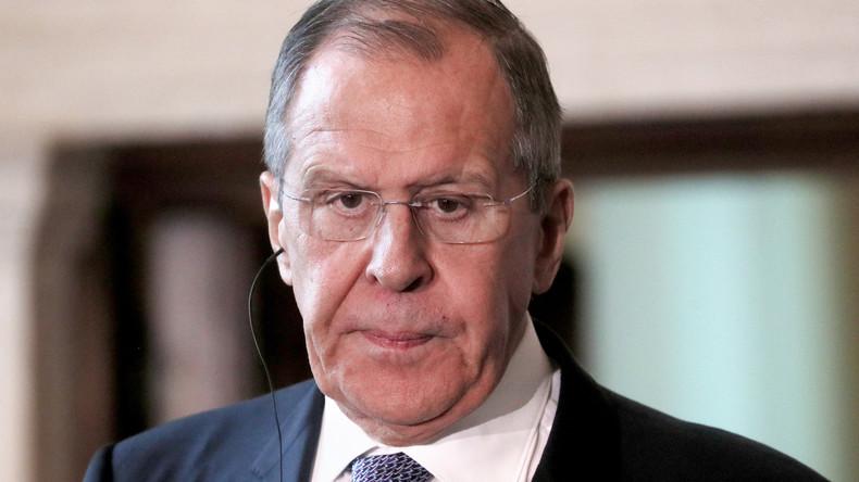 """Lawrow: """"Selenskij hat seinen Willen gezeigt, Frieden im Donbass zu suchen"""""""