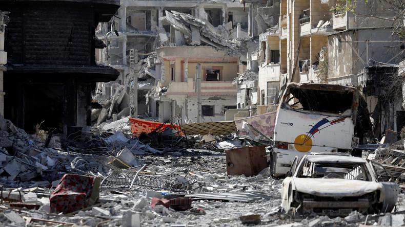 Erstmals nach Befreiung: Russische Armee betritt ehemalige IS-Hochburg ar-Raqqa